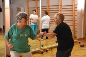 convatir el sedentarismo de las personas mayores