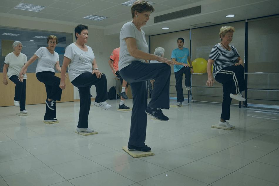 Actividad física para pacientes y farmacéuticas